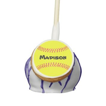Fastpitch Softball Custom Cake Pops! Cake Pops