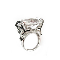 Lace Rock Crystal & Diamond Ring by Ivanka Trump at Gilt