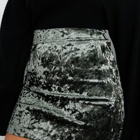 Softest Touch Skirt: Charcoal