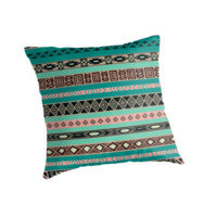 Tiffany Mint Pastel Aztec Pattern