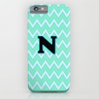 Letter N iPhone & iPod Case by Gretzky