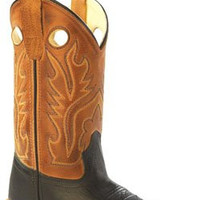 Old West Boys Western Boot {Tan} | BSC1810