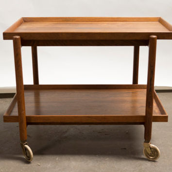 Illums Bolighus Mid Century Serving Cart