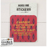 Natural Life Sticker Set - Courage