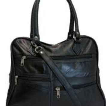 AFONiE-Orgnized Leather Work Bag