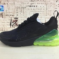 Nike Air Max 270 Black Volt | AH8050-011 Sport Running Shoes - Best Online Sale