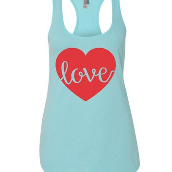 Love Womens Workout Tank Top