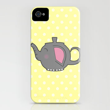 Elephant Teapot iPhone & iPod Case by KJ53321 | Society6