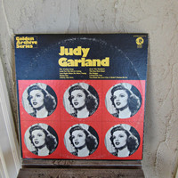 Judy Garland Hits , Judy Garland Record , Jockey Record , Vintage LP , Trolley Song , Over the Rainbow , Golden Archive Series , MGM Gas 113