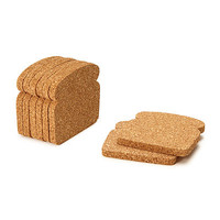 TOAST COASTERS - SET OF 8