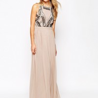 River Island Embellished Maxi Dress