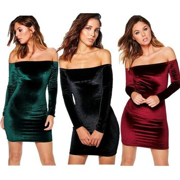Women's Fashion Winter Sexy Dress [10384153228]