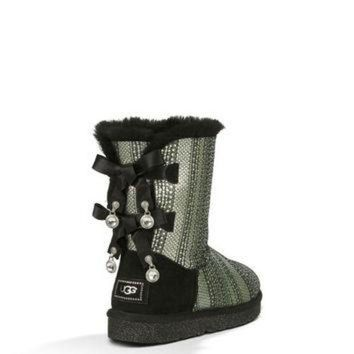 ICIK8X2 UGG? Bailey Bow Bling |