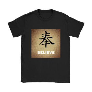 Womens comfortable Believe Law of Attraction Tshirt