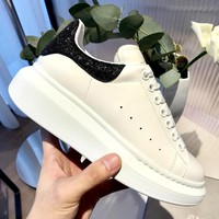 Free shipping-Alexander McQueen 2019 new women's thick-soled platform shoes