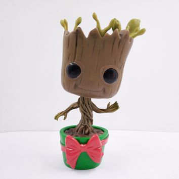 POP! Marvel Guardians Of The Galaxy Vinyl Figure HOLIDAY DANCING GROOT 10cm #101