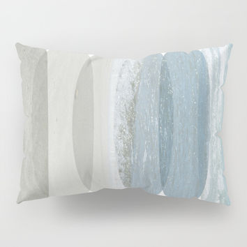 Beach Fragments Pillow Sham by ARTbyJWP
