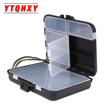 YTQHXY Fishing Tackle Box 11 Compartments Storage Fly Fishing Lure Spinner Bait Minnow Popper Fishing Accessories YE-226