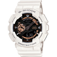 G-Shock GA110RG-7A White & Rose Gold Watch at Zumiez : PDP