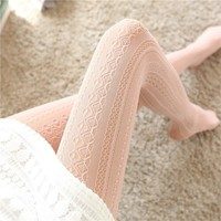 Vintage Lace Pantyhose Stripes Korean Slim Sexy Socks [107233312793]