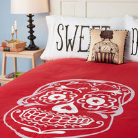 Sugar Sweet Dreams Duvet Cover in Full/Queen