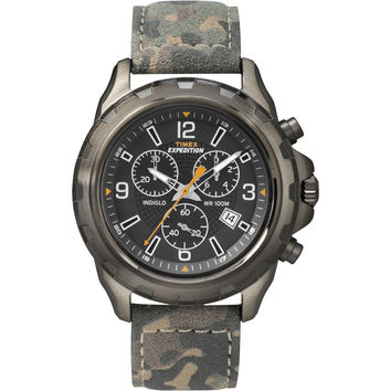 Timex Expedition Rugged Chronograph Watch Camo/Brown T49987 T49987 753049000000