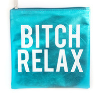 Blue Bitch Relax Pouch