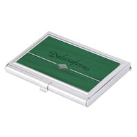 Green Water Business Card Case