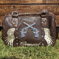 Western Cowgirl Six Shooter Purse