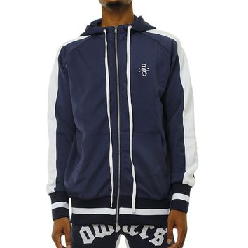 Own The Team Double Stripe Track Jacket Navy