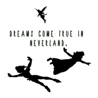 Dreams Come True In Neverland. Art Print by Ian Layne