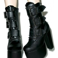 Demonia Elvira Boots | Dolls Kill