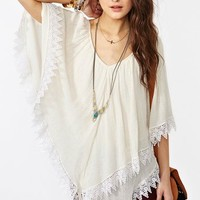 Isis Crochet Poncho in  Clothes Dresses at Nasty Gal