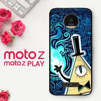 Gravity Falls Bill Cipher  X4424  Motorola Moto Z Play Case