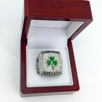 Christmas Gifts For Men Rings Hot selling Sport 2008 Boston Basketball World Championship Ring