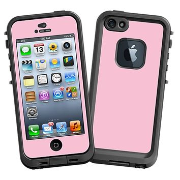 Baby Pink Skin  for the iPhone 5 Lifeproof Case by skinzy.com