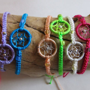 2 Dream Catcher Friendship Bracelets