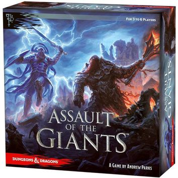 D & D Board Game: Assault of the Giants