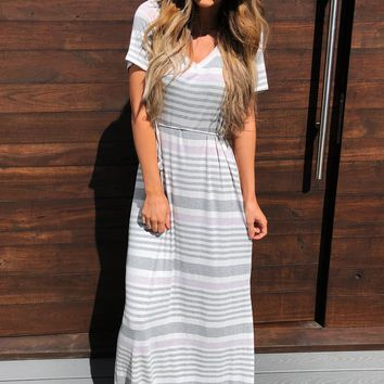 Do The Stripe Thing Dress: Multi