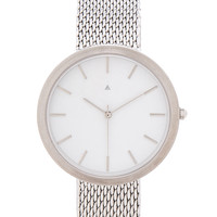 I Love Ugly Archibald Watch in Silver
