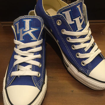 Game Day Chuck Taylors ...Mens, Womens and childrens sizes available....(UK Wildcats)....Any team available, just ask!