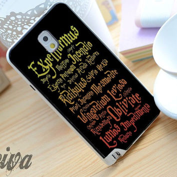 Black Magic Spells Harry Potter Phone Case For iPhone Samsung iPod