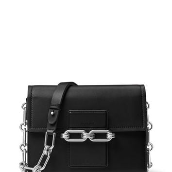 Michael Kors Cate Medium Chain Shoulder Bag, Black