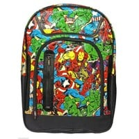 Marvel Comics Multi Character Backpack