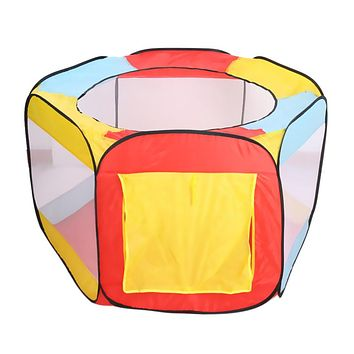 Pop-up Design Play House Indoor and Outdoor Easy Folding Ball Pit Hideaway Tent Play Hut
