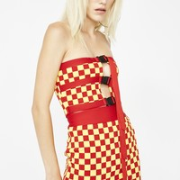 Red Alert Checkered Set