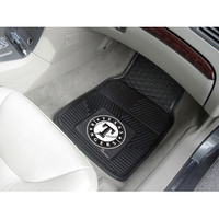 "Fan Mats Mlb Texas Rangers Heavy Duty 2 Piece Vinyl Car Mats 18""X27"""