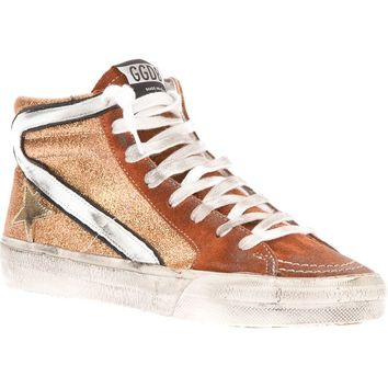Golden Goose Deluxe Brand 'Slide' Lace-Up Trainer