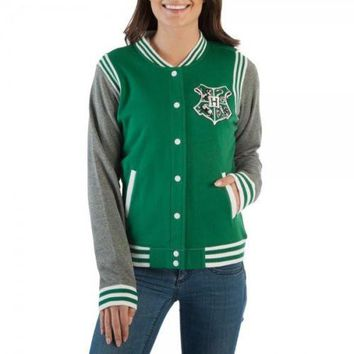 Harry Potter Slytherin Quidditch Junior Varsity Jacket