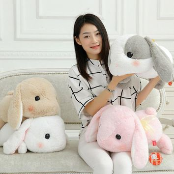 1PC Soft Rabbit plush toy adorable rabbit Japanese Amuse plush doll Kids Girl Best birthday Gift